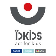 Logo de ïdkids (Okaïdi, Obaïbi,Oxybul)
